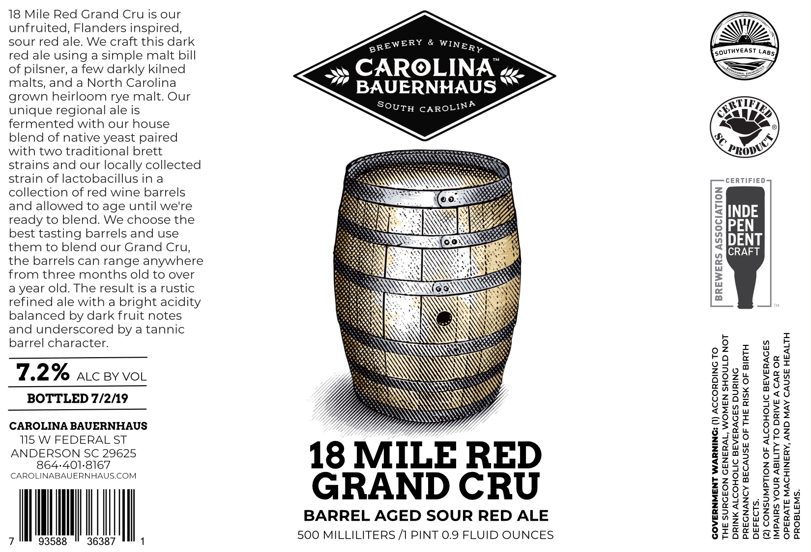 18 Mile Red Grand Cru
