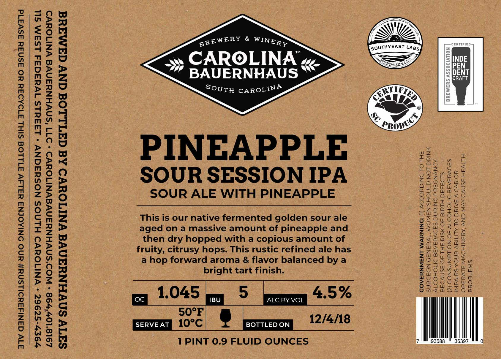 Pineapple Sour Session IPA