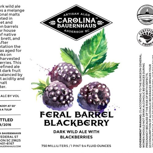 Feral Barrel Blackberry
