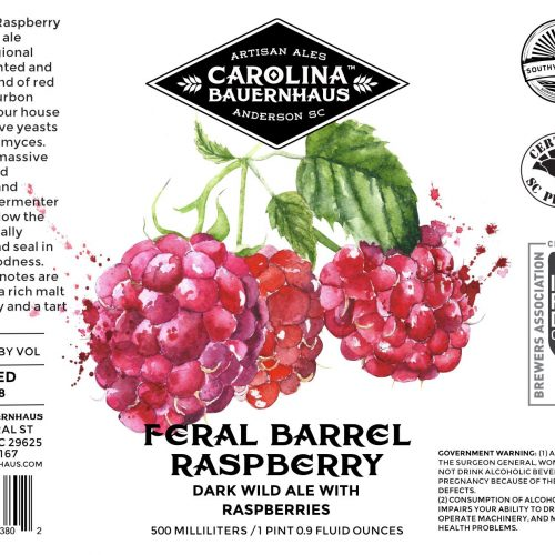 Feral Barrel Raspberry